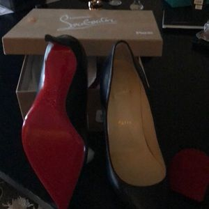 Christian Louboutin shoes size 39.5